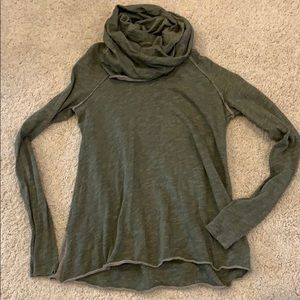 Free People funnel neck top, size small